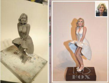 Эксклюзивная статуэтка руководителю женщине на заказ