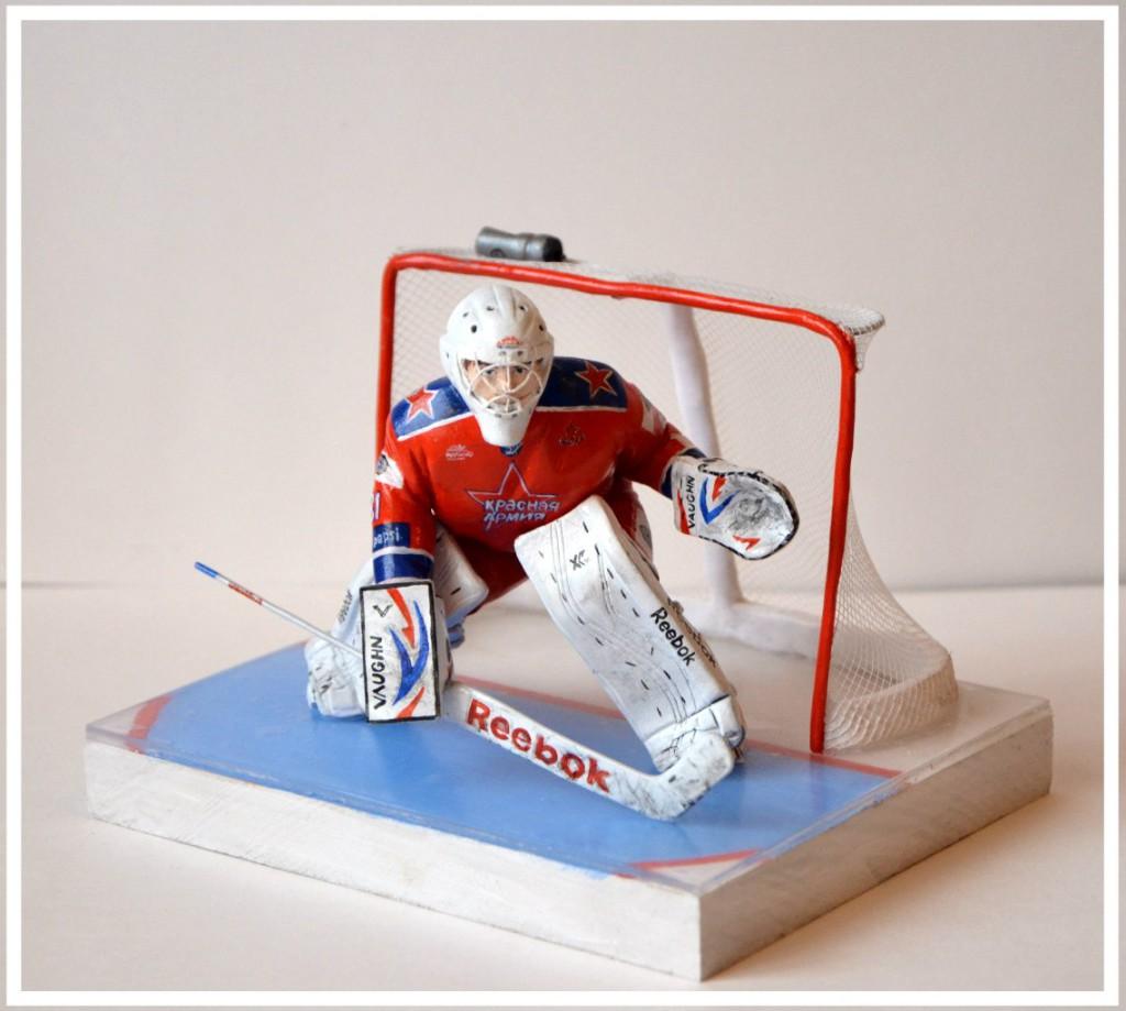 фигурка хоккейного вратаря