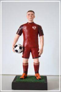 статуэтка футболиста на заказ