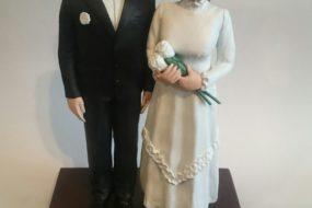 Свадебная фигурка по фото, как оригинальный подарок на свадьбу!