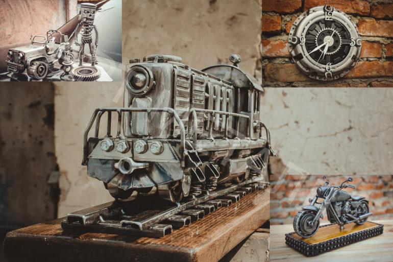 Эксклюзивные сувениры из металла ручной работы