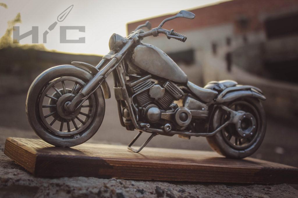 сувенирный ретро мотоцикл