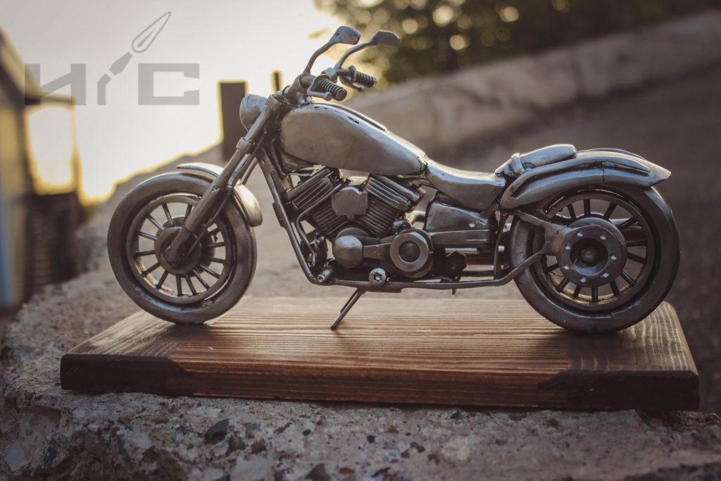 ретро мотоцикл для коллекции