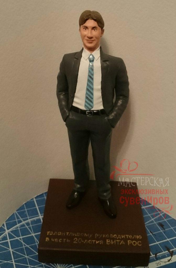 заказать статуэтку по фото руководителю