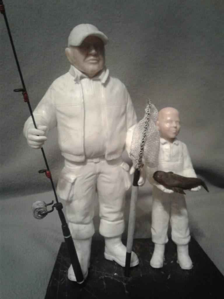 где заказать фигурку рыбака