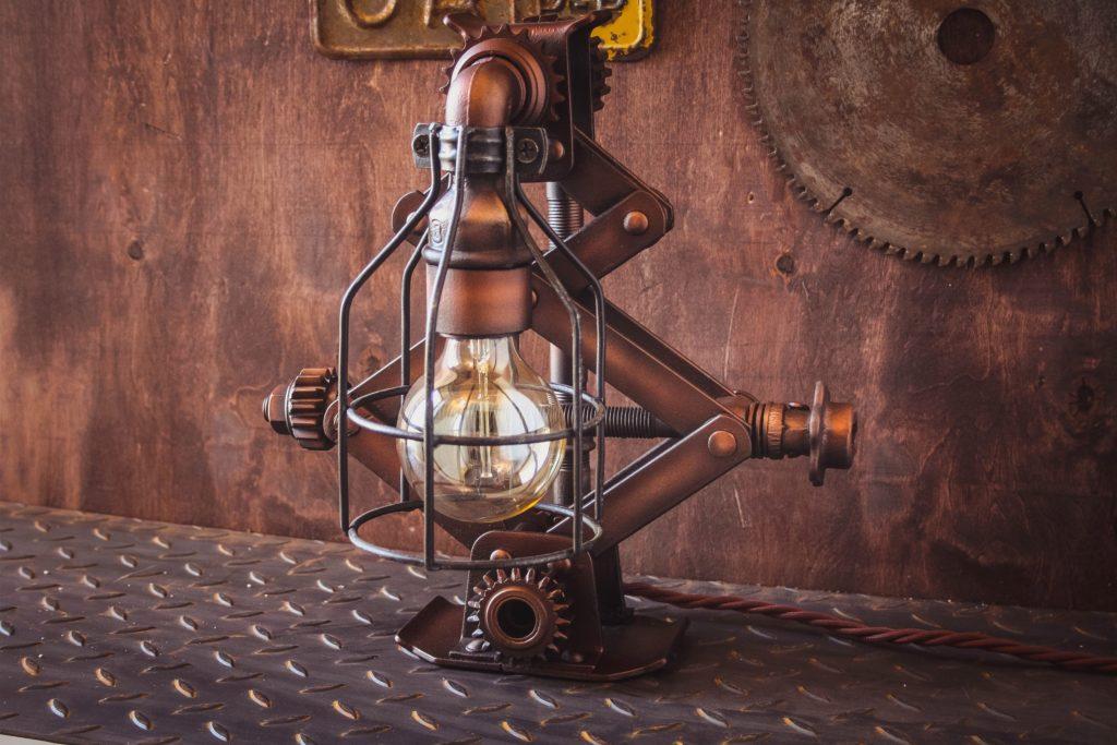настольная ретро лампа на заказ