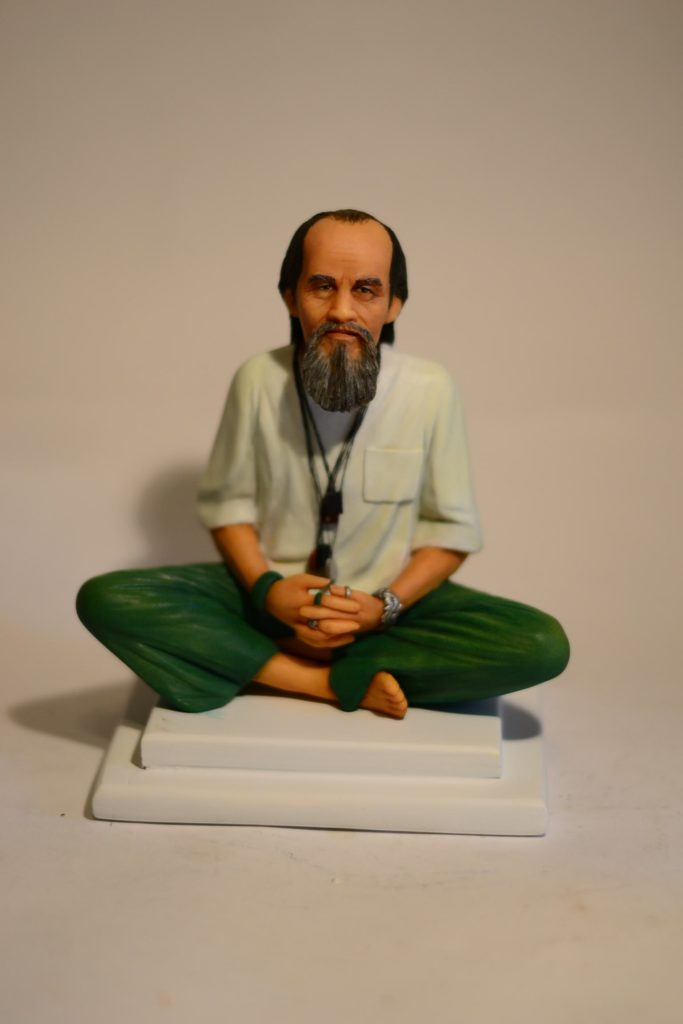 Фигурка буддиста