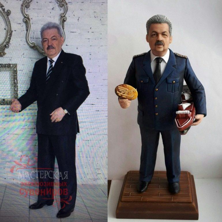 3D cтатуэтка по фото, подарок моряку…