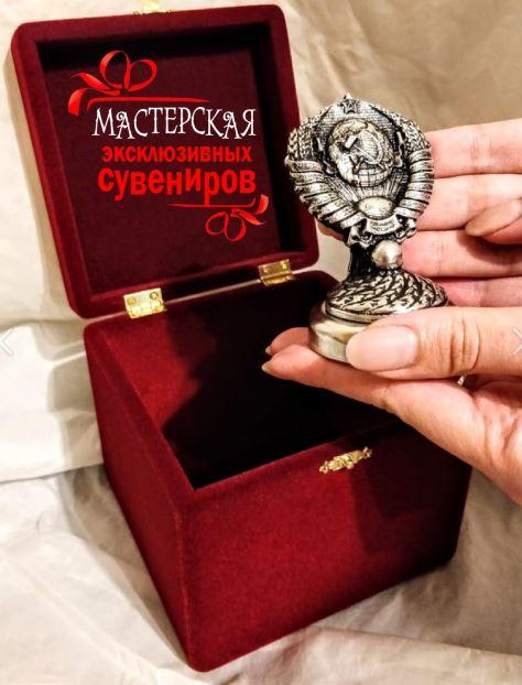 Герб СССР на капот