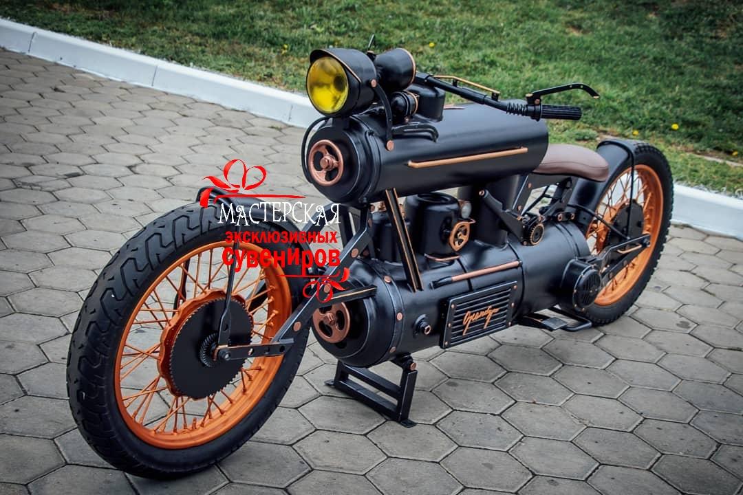 купить мотоцикл из металла